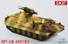 MT-LB UKRAINIAN APC WITH 6M1B3 WEAPONS SYSTEM 1/35 SKIF RARE