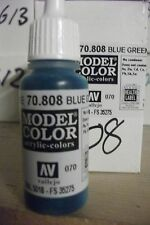 modello Hobby Pittura 17ml BOTTIGLIA val808 AV Vallejo Model Color - blu verde