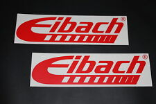 Eibach Aufkleber Sticker Decal Kleber Bapperl Autocollant Federn Fahrwerk Auto r