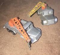 Matchbox Lesney No 30 Magirus Deutz Crane Truck X2 Two !