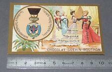 CHROMO GUERIN-BOUTRON 1905-1914 DECORATIONS ÖSTERREICH ORDRE DE LA CROIX ETOILEE