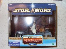 Star Wars Death Star Trash Compactor Princess Leia & Chewbacca A New Hope