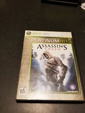 Xbox 360 Assassins Creed Platinum Hits - no directions