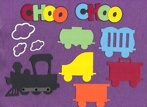 CHOO CHOO train Scrapbooking ~The Purple Butterfly~ scrapbook cards