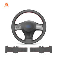PU Leather Steering Wheel Cover for Subaru Forester Outback Legacy XV Impreza
