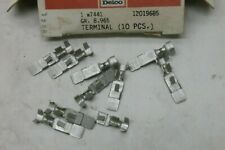 10- 12019685 GM AC Delco Terminals, Box Of 10, Gr. 8.965, Free US Ship `