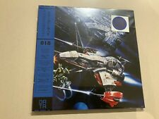DATA018: Thunder Force IV 3xLP ltd. blueblackgrey swirl sealed
