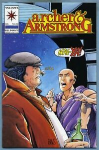 Archer & Armstrong #12 (Jul 1993, Valiant) [Doctor Solar] Barry Windsor-Smith