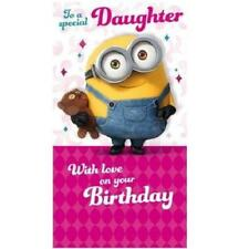 Minions Movie To A Special Daughter Birthday Card New Gift Despicable Me