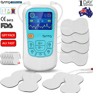 OSITO Dual Channel TENS + EMS Combo Machine Pain Relief Massager With 8 pcs Pads