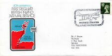 1974 Sg S17 40th Anniversary First Regular British Inland Air Mail Service Cover