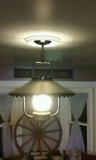 Vintage Hanging Ceiling Light Lantern Style Country Cottage Cabin