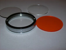 BDB 49MM SCREW IN FILTER WITH DUTO ORANGE CLEAR AND CLOSE-UP GLASS FILTERS