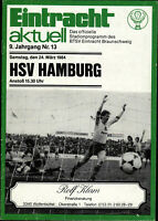 BL 83/84 Eintracht Braunschweig - Hamburger SV, 24.03.1984