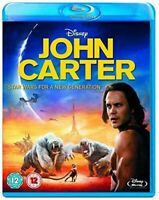 John Carter Blu-ray [Region Free] Disney Adventure Movie - Free Shipping - NEW