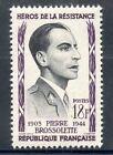STAMP / TIMBRE FRANCE NEUF N° 1103 ** HEROS DE LA RESISTANCE PIERRE BROSSOLETTE