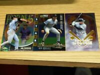 ALEX RODRIGUEZ 3 CARD INSERT  LOT (Early Years of A.ROD)