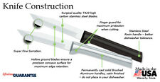 Rada W242 Serrated Regular Paring Knife (6 ct) USA made cutlery L/R, very sharp