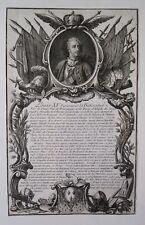Eau forte, Louis XV surnommé Le Bien-aimé, Anonyme, 1788