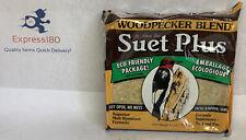 New listing (Ov) St. Albans Bay Woodpecker Suet Cake Specially Blend, 11 Oz.