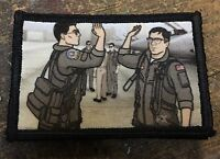 Archer Top Gun Morale Patch Funny Tactical Military Army Badge Hook Flag USA