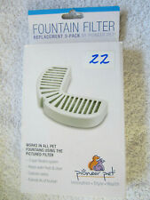 Pioneer Pet Replacement Filters for Ceramic & Stainless Steel 3 filters  itemF22