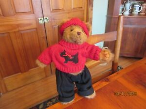 BEARINGTON BEAR  MULLIGAN MACBEARINGTON FALL 2005 13 INCHES TALL ORIGINAL TAG