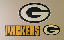 """Green Bay Packers FATHEAD Lot/3 Team Logo/Banner/Sign Graphics (Up to 15"""") NFL"""