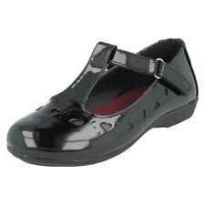 Chaussures noires à enfiler pour fille de 2 à 16 ans pointure 30