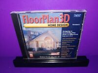FloorPlan 3D Home Design Version 6 Windows 95/98/NT 4/2000/XP  PC CD ROM B464