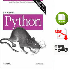 Learning Python : Mark Lutz - Learning Python, 5th Edition - 2013 D7 .P.D.F.