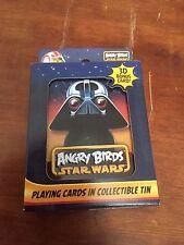 Angry Birds Star Wars carte da gioco in latta da collezione
