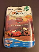 Vtech V.Smile Motion Disney Pixar Cars Educational Learn Games Head to Head Play