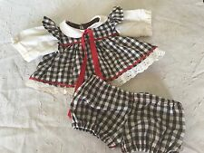 """14"""" 18"""" Chunky Doll Dress Bloomers Fits My Child CPK Ideal Baby Girl Clothing"""