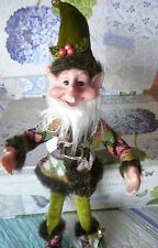 "Nordic Woodsland Elf Charming Whimsical 17"" Poseable Sprite Gnome Pixie New"