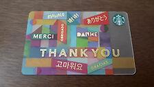 Starbucks Malaysia Thank You Card
