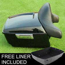 King Tour Pak Pack Trunk Backrest Pad For Harley Electra Street Road Glide 14-18
