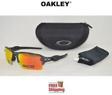OAKLEY® SUNGLASSES FLAK™ 2.0 XL PRIZM™ BLACK CAMO COLLECTION W/ RUBY LENS + CASE
