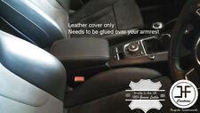 Cuciture grigio in vera pelle BRACCIOLO COPERCHIO COPERTURA si adatta a Audi A3 8 V 2013-2016