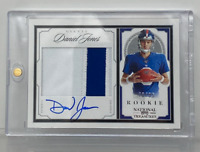 2019 Panini National Treasures Daniel Jones Rookie Auto RCA /99 Giants #CRS-DJ