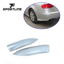 2X Rear Diffuser Side Lip Splitter For Audi A4 B8 Non-Sline Bumper 09-12 Factory