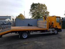 IVECO Eurocargo 75E15 7.5 tonne Flatbed Beavertail with Crane £7750.00 Plus Vat