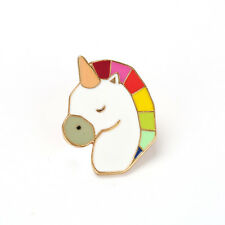 Unicorn Pin Broche/Joyas Regalo Idea insignia Rainbow Kawaii Lindo para Mujer Chicas