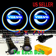 2x 7w Ghost Shadow Projector Laser Logo LED Door Step Light Courtesy for VOLVO