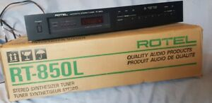 ROTEL RT850L 3 BAND RADIO TUNER - Good Condition with Box