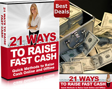 21 Ways To Raise Fast Cash Pdf eBook Free Shipping + 5 Bonus eBooks