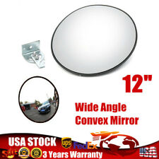 Convex mirror eliminate blind spots for street corners garages parking lots NEW