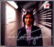 Kent NAGANO Signiert BRUCKNER Symphony 7 Bayerisches Staatsorchester CD Sinfonie