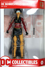 DC Bombshells ~ KATANA ACTION FIGURE ~ DC Collectibles Ant Lucia