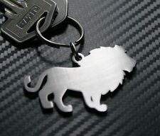 LION African Big Cat King of Jungle Animal Mammal Keyring Keychain Key Fob Gift